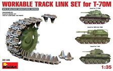 MiniArt Models 1/35 Workable Track Link Set for T-70M Light Tank/T-80/SPG SU-76M
