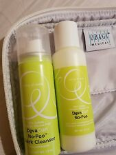 Deva curl no poo conditioning cleanser and quick cleanser