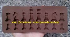 Mini Chess Chocolate Fondant Clay Jelly Crayon Silicone Mold Molder