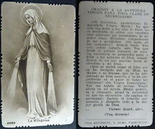 OLD BLESSED OUR LADY VIRGIN OF THE MIRACLE HOLY CARD PRAYER  SEE MY SHOP  CC1564