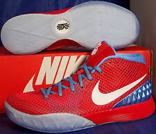 Womens Nike Zoom Kyrie 1 iD Red Blue White SZ 10 /// Mens SZ 8.5 ( 747424-991 )
