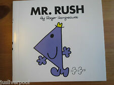 Mr Rush (Book 30)  NEW.  BUY 3 MR MEN BOOKS GET ANOTHER FREE!