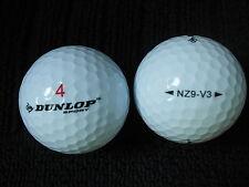 """10 Dunlop Sport - """"nz9-v3"""" - Soft-modello 2016/17 - Palline da Golf -"""" Pearl/A """"voti."""