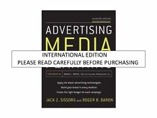 Advertising Media Planning, 7th ed. by Roger Baron & Jack Sissors