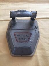 VINTAGE GREY TWO HOLE PAPER PUNCH ACCO 10X NEW YORK