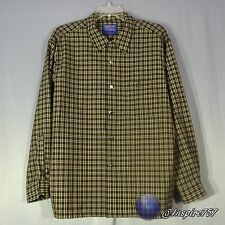 Pendleton Men's Size XL Extra Large Plaid 100% Pure Wool Button Up Flannel Shirt