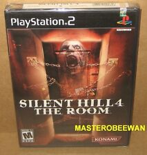 PS2 Silent Hill 4: The Room Black Label New Sealed (Sony PlayStation 2, 2004)