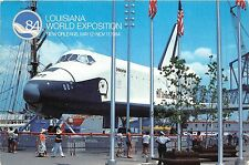 B71547 Louisiana world Exposition New Orleans Enterprise The Nasa Space Shuttle