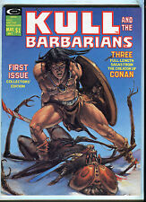 KULL AND THE BARBARIANS VOL. 1 #1 (8.5) 1975