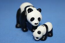Playmobil Mother and Baby Giant Panda - Zoo Safari Wildlife Animals NEW