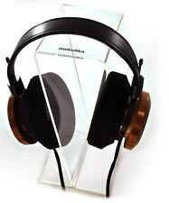 Headphone Stand Crystal Clear Acrylic By Melodika Model MDS 1000  New Boxed UK