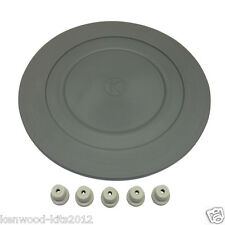 Kenwood Chef & Major Bowl Mat 14CM & 5 Replacement Rubber Mixer Feet.
