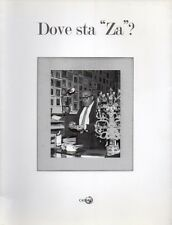 Dove sta 'Za'? 110 artisti per i 110 anni di Cesare Zavattini Cadmo 2012