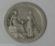 1869 R SILVER MEDAL by Roty OPENING OF THE SUEZ CANAL * EGYPT