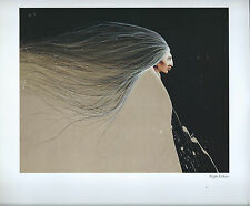 """Frank Howell, """"Night Echoes"""" Print of A Native American--Southwest Art"""