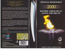 OLYMPIC GAMES SYDNEY 2000 TOURCH RELAY    VHS PAL VIDEO