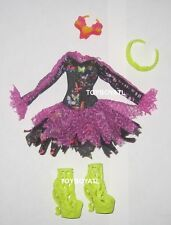 Monster High Freaky Fusion Bonita Femur Doll Outfit Clothes Dress & Shoes NEW
