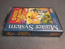 Cheese Cat-Astrophe Speedy Gonzales Sega Master System Factory Seal Tec Toy