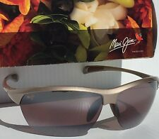 NEW* Maui Jim MIDDLES Champagne - Maui Rose POLARIZED Women's Sunglass RS428-24