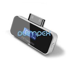 F06 Car Motor Vehicle FM Transmitter for Iphone 4S 4 Ipod Ipad with Car Adapter