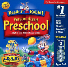 Learning PC games for kids,Reader Rabbit Personalized Preschool,Numbers,Colors