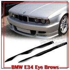 BMW 5-Series E34 4Door Sedan Wagon Eyelid Eyebrow Headlight Front Painted