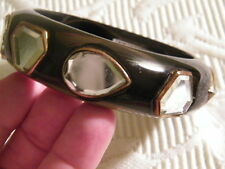 ISHARYA-BANGLE BRACELET(8)geometricMIRRORS 18kt yellow gold plated NWT RET $360.