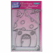 Sweet Dixie A6 Clear Stamp Set - SDCSA6053 Fairy Toadstool Home