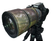 Nikon 55-300mm f/4.5-5.6G ED VR  Neoprene lens protection camo Woodland Green