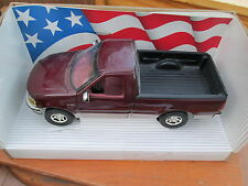 1:18 Scale American Muscle 1997 F 150  MARROON  collectors edition