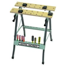 Folding Clamping Workbench With Movable Pegs SAE & Metric for easy measurement!