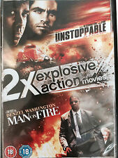 Denzel Washington UNSTOPPABLE / MAN ON FIRE Tony Scott Action Double Bill UK DVD