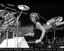 ALAN WHITE PHOTO YES Black and White Photo in 1978 by Marty Temme Roto Toms