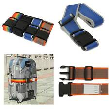 Luggage Strap For Suitcase Lock Belt Strap Baggage Tie Adjustable Random sent