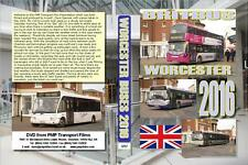 3257. Worcester. UK. Buses. Feb 2016. A fine turn out with plenty of new buses,
