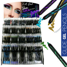 {1 Full Set} L.A. Girl Glide Gel Eyeliner Pencil Bold & Intense & Long Lasting