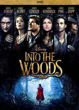 Into the Woods (DVD, 2015) Very Good