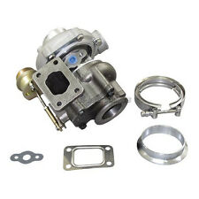 "Universal T25/T28 Turbo Charger Turbocharger 14 Psi Wastegate + 2.5"" V-band Kit"