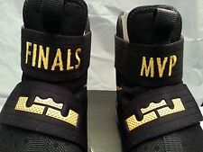 Nike Zoom LeBron Soldier 10 NBA MVP FINALS ID PE Championship Size 13 kyrie Cavs