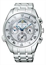 CITIZEN CAMPANOLA Men's watch Moon phase Minute repeater Chronograph CTR57-0991