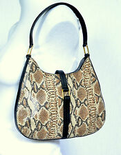 Striking, LEATHER/SNAKESKIN, SHOULDER/SCOOP BAG,Debenhams, Medium Size, Ex Con
