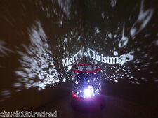 Christmas/Party Star Master Sky Projector/Father Christmas/Merry Christmas Light