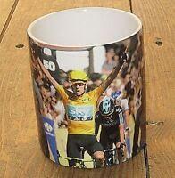 Bradley Wiggins Tour de France Cycling Arms MUG