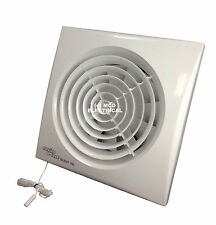 """Envirovent SILENT-150P Extractor Fan with Pull Cord for 6""""/150mm duct SIL150P"""