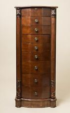 "Hives and Honey ""ANTOINETTE"" Jewelry Armoire Antique Walnut"