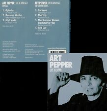 ART PEPPER  live in japan 1978 , vol. 1 & 2  / 2 CDs