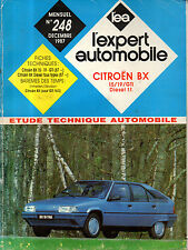 RTA revue technique automobile N° 248 CITROEN BX 15 19 GTI DIESEL