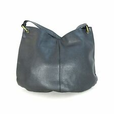 INDIGO by CLARKS Gorgeous Black Leather Large Shoulder Bag Purse Tote 0000MB