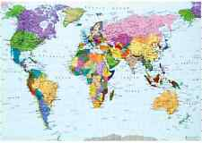 """Jigsaw Puzzles 1000 Pieces """"The World Map"""" / Peak"""