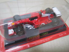 Ferrari F1 F2002 #1 Mini Car Made by IXO 1/43 Scale